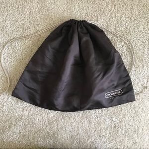 Coach Bags - Authentic Coach Dust Bag Medium Size Brown Silk